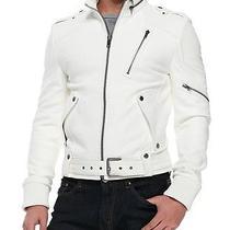 Andrew Marc X Richard Chai Easton Lamb Leather Moto Jacket Xl Wtags Limited Edit Photo