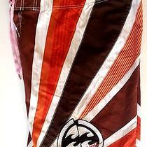 Andy Irons Billabong Signature Boardshorts Size  31 Surf Surfer Surfing  Photo