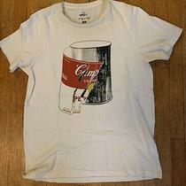 Andy Warhol Campbell's Soup Can With Peeling Label T-Shirt Adult Medium Photo