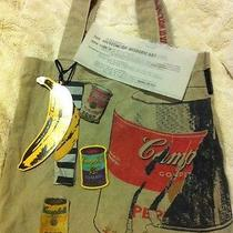 Andy Warhol Campbells Soup Canvas Tote  Handbag Purse Pop Art Photo