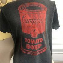 Andy Warhol Campbells Soup Mens T-Shirt Pop Art Vintage New York Art Retro Photo