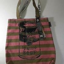 Andy Warhol Canvas Tote Bag Campbells Tomato Soup Pop Art Street Wear Loop Photo