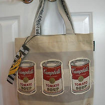 Andy Warhol Canvas Tote Bag Campbells Tomato Soup Cans Photo