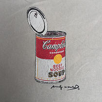Andy Warhol Foundation Visual Arts Campbell Painting Soup T-Shirt Pop Street Photo