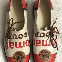 Andy Warhol Shoes by Icon Campbell Soup Rare 6.5 Women's Brand New Display Shoe Photo