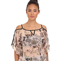 Angie Solid Top Womens Blush - Size M Photo