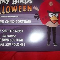 Angry Birds Halloween Red Bird Child Costume by Rovio - One Size Fits Most Photo