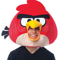 Angry Birds Red Bird Adult Mask Rovio Video Game App Costume Prop Fancy Dress Photo