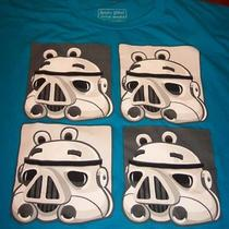 Angry Birds Star Wars Stormtrooper Pigs T-Shirt Small New Photo