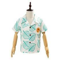 Animal Crossing Tom Nook Kid's Cosplay Costume Short Sleeve Shirts Top Photo