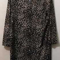 Animal Print Dress by Blush Size 3xl (2x) Nwt Photo
