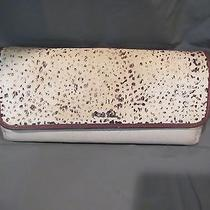 Animal Print Leather Fossil Wallet Photo