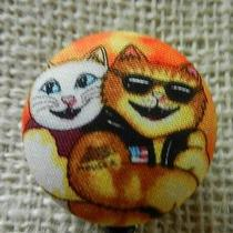 Animated Catsretractableid/name Badgekeyholderreelclick for More Photo