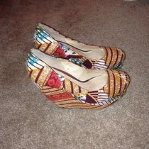 Ankara Print Aldo Wedges  Photo
