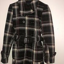 Ann Klein Womens Jacket Plaid Size Small  Photo