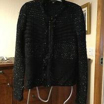 Ann Taylor Cardigan Style Blazer Sweater Size S Gorgeous Photo