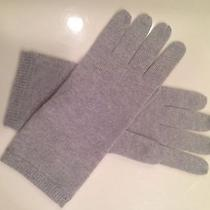 Ann Taylor Cashmere Gloves Heather Gray New Photo