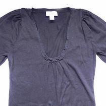 Ann Taylor Loftblack Light Weight Short Sleeve Sweater Sz Small Ln Photo