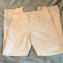 Ann Taylor Loft Denim Pants Boot Cut Wide Leg Womens Pants Blush Pink Size 8 Photo