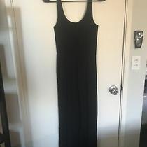Ann Taylor Loft Lou & Grey Black Maxi Dress Size Xs/s Photo