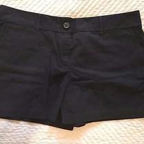 Ann Taylor Loft Shorts Nwt 14 Black  Photo