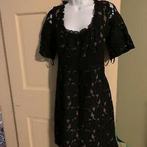 Ann Taylor Loft Sz 8 Blk Dress Photo