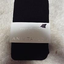 Ann Taylor Loft the Perfect Tights  Black  Sz S Photo