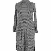 Ann Taylor Loft Women Blue Casual Dress Xl Photo