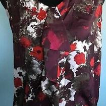 Ann Taylor Loft Women's Sleeveless Blouse Size S Tank Top Scoop Neck Photo