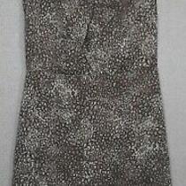 Ann Taylor Loft Womens Size 8 Dress Sleeveless Tan Brown Wear to Work  Photo