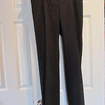Ann Taylor Modern Fit Black Pants - Size 4p Photo