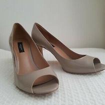 Ann Taylor Open Toe Pumps Heels Sz 8.5 Photo