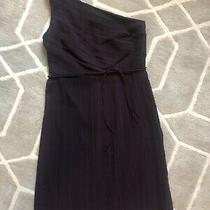 Ann Taylor Plum/purple One-Shoulder Dress Photo