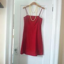 Ann Taylor Red Dress  4p Perfect for the Holidays Photo