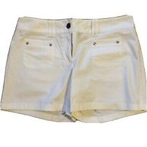 Ann Taylor Size 6 Cream/white Shorts  Photo