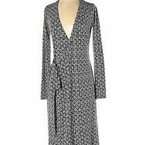 Ann Taylor Women Blue Casual Dress 0 Tall Photo