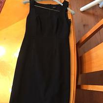 Ann Taylor Xs Black Work Dress Party Dress Cocktail Dress Lined Knee Length Photo