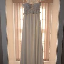 Anna Campbell Rebecca Vintage Wedding Dress White Ivory Beaded Boho Bhldn Photo