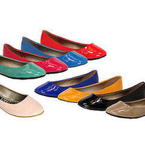 Anna Sonia-1 Womens Hot Simple Bright Color Casual Comfort Ballet Flats Photo