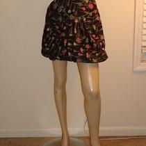 Anna Sui Womens Anthropologie Hot Air Balloon Skirt 2 Sexy Photo