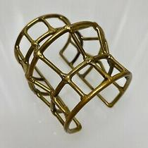 Anndra Neen Malleable Antiqued Nickel-Silver Caged Cuff Photo