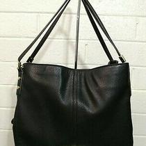 Anne Klein Black Hobo Shoulder Bag Handbag Purse Tote Photo