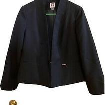 Anne Klein Black Jacket Size Pmedium Photo