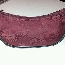 Anne Klein Burgundy Purse Photo