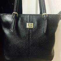 Anne Klein Handbag in Black Tote Purse Photo