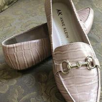 Anne Klein Iflex Overbook Blush Animal Print Boat Ballet Flat Shoes Women Sz 9 Photo