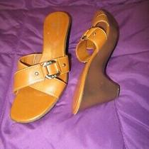 Anne Klein Iflex Sandals  Color Tan -  Size 8  - Free Shipping Photo