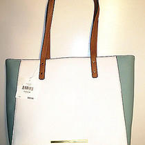 Anne Klein Its the One Large Tote Cloud/cognac/seafoam Photo