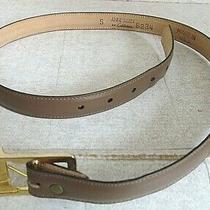 Anne Klein Leather Belt Size Small 33
