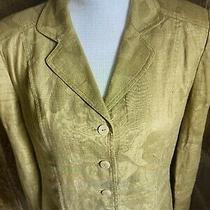 Anne Klein Linen Blazer Size 8 Photo